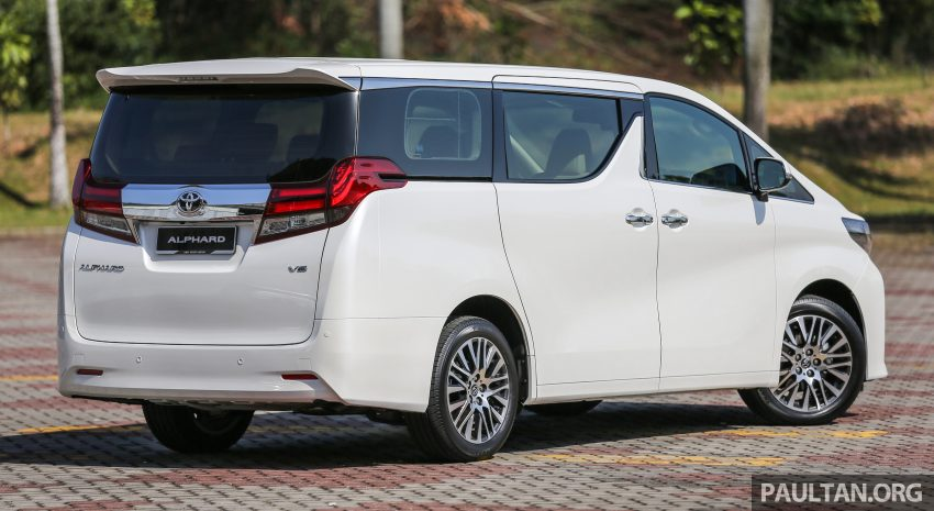 2016 Toyota Alphard and Vellfire launched in M'sia – RM408k-RM506k for Alphard, RM345k for Vellfire Image #529334