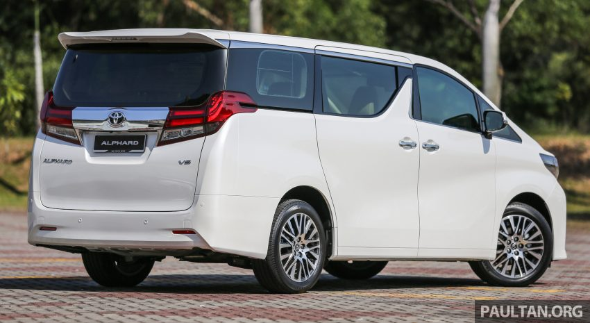 2016 Toyota Alphard and Vellfire launched in M'sia – RM408k-RM506k for Alphard, RM345k for Vellfire Image #529335
