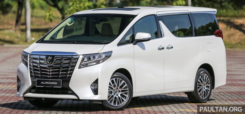 2016 Toyota Alphard and Vellfire launched in M'sia – RM408k-RM506k for Alphard, RM345k for Vellfire Image #529314