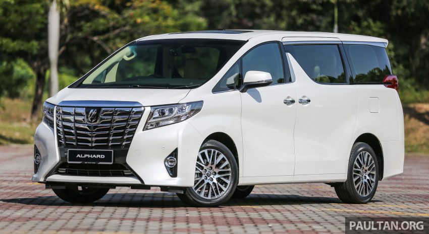2016 Toyota Alphard and Vellfire launched in M'sia – RM408k-RM506k for Alphard, RM345k for Vellfire Image #529315