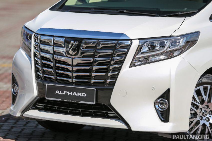 Toyota Alphard dan Vellfire 2016 dilancarkan di M'sia – RM420k-RM520k untuk Alphard, RM355k bagi Vellfire Image #529619