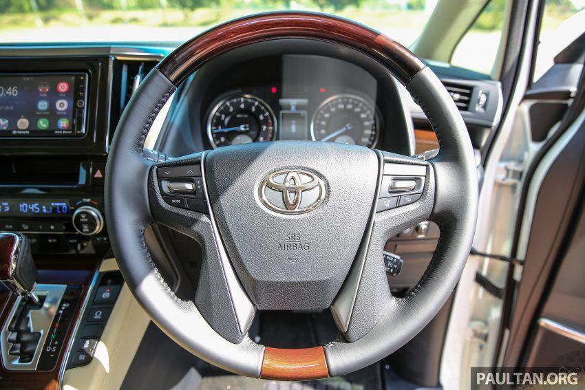 Toyota Alphard dan Vellfire 2016 dilancarkan di M'sia – RM420k-RM520k untuk Alphard, RM355k bagi Vellfire Image #529604