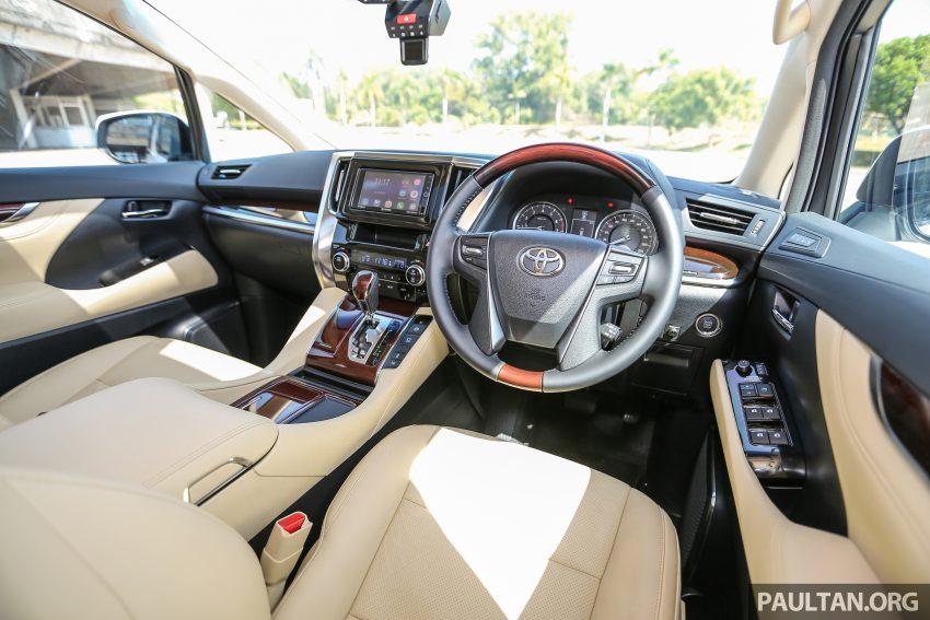 Toyota Alphard dan Vellfire 2016 dilancarkan di M'sia – RM420k-RM520k untuk Alphard, RM355k bagi Vellfire Image #529590