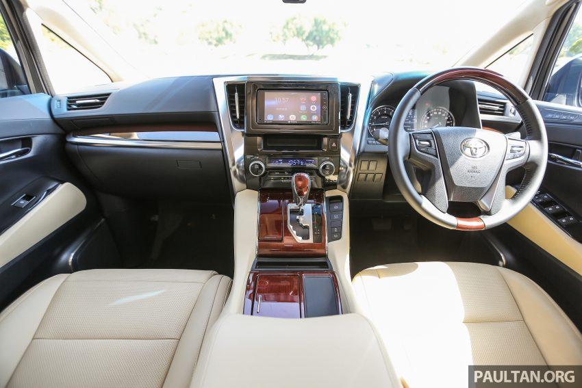 Toyota Alphard dan Vellfire 2016 dilancarkan di M'sia – RM420k-RM520k untuk Alphard, RM355k bagi Vellfire Image #529589