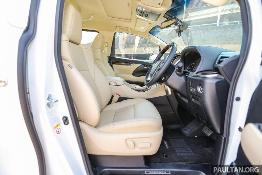 Toyota Alphard dan Vellfire 2016 dilancarkan di M'sia – RM420k-RM520k untuk Alphard, RM355k bagi Vellfire Image #529586