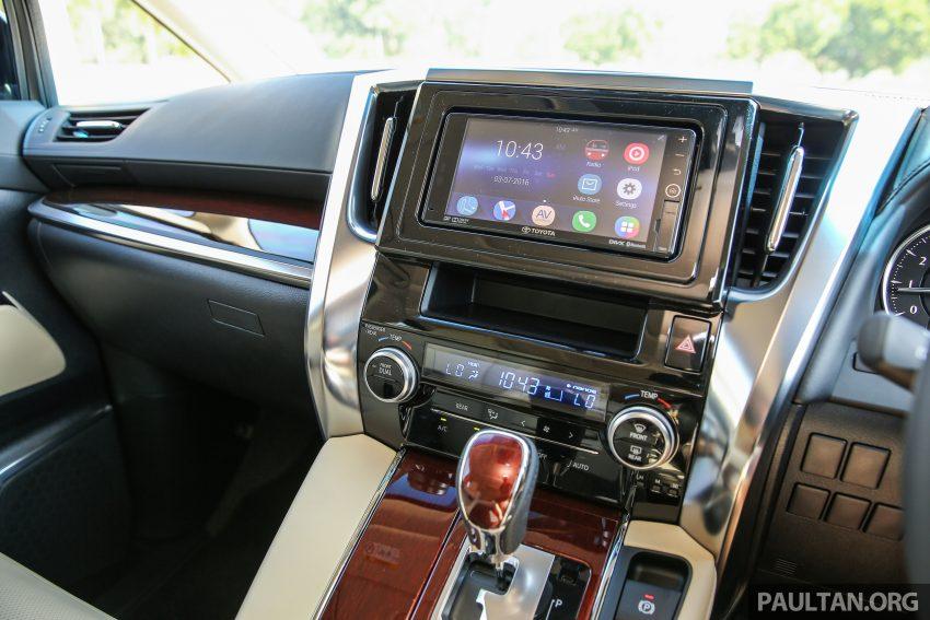 Toyota Alphard dan Vellfire 2016 dilancarkan di M'sia – RM420k-RM520k untuk Alphard, RM355k bagi Vellfire Image #529582