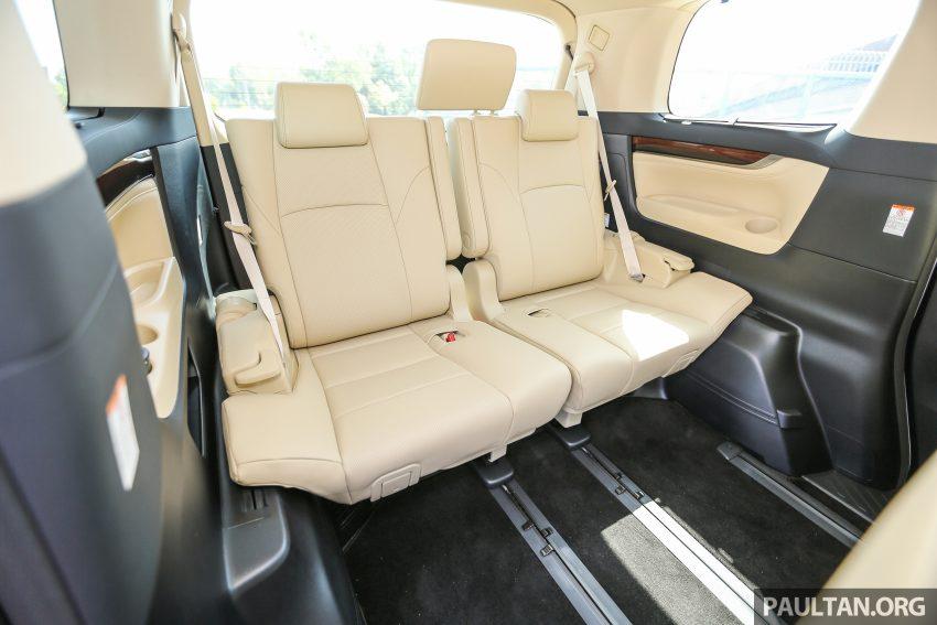 Toyota Alphard dan Vellfire 2016 dilancarkan di M'sia – RM420k-RM520k untuk Alphard, RM355k bagi Vellfire Image #529581