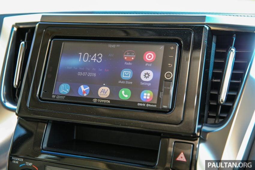 Toyota Alphard dan Vellfire 2016 dilancarkan di M'sia – RM420k-RM520k untuk Alphard, RM355k bagi Vellfire Image #529573