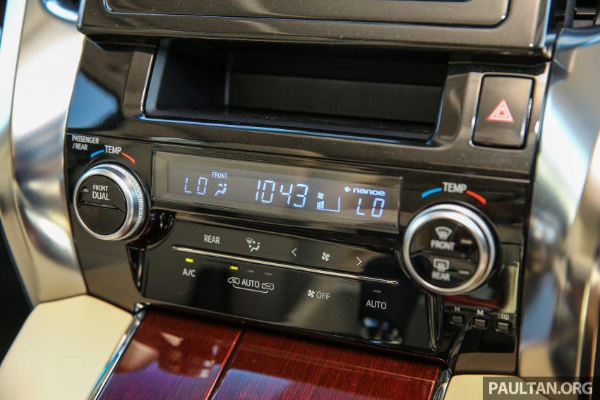 Toyota Alphard dan Vellfire 2016 dilancarkan di M'sia – RM420k-RM520k untuk Alphard, RM355k bagi Vellfire Image #529572