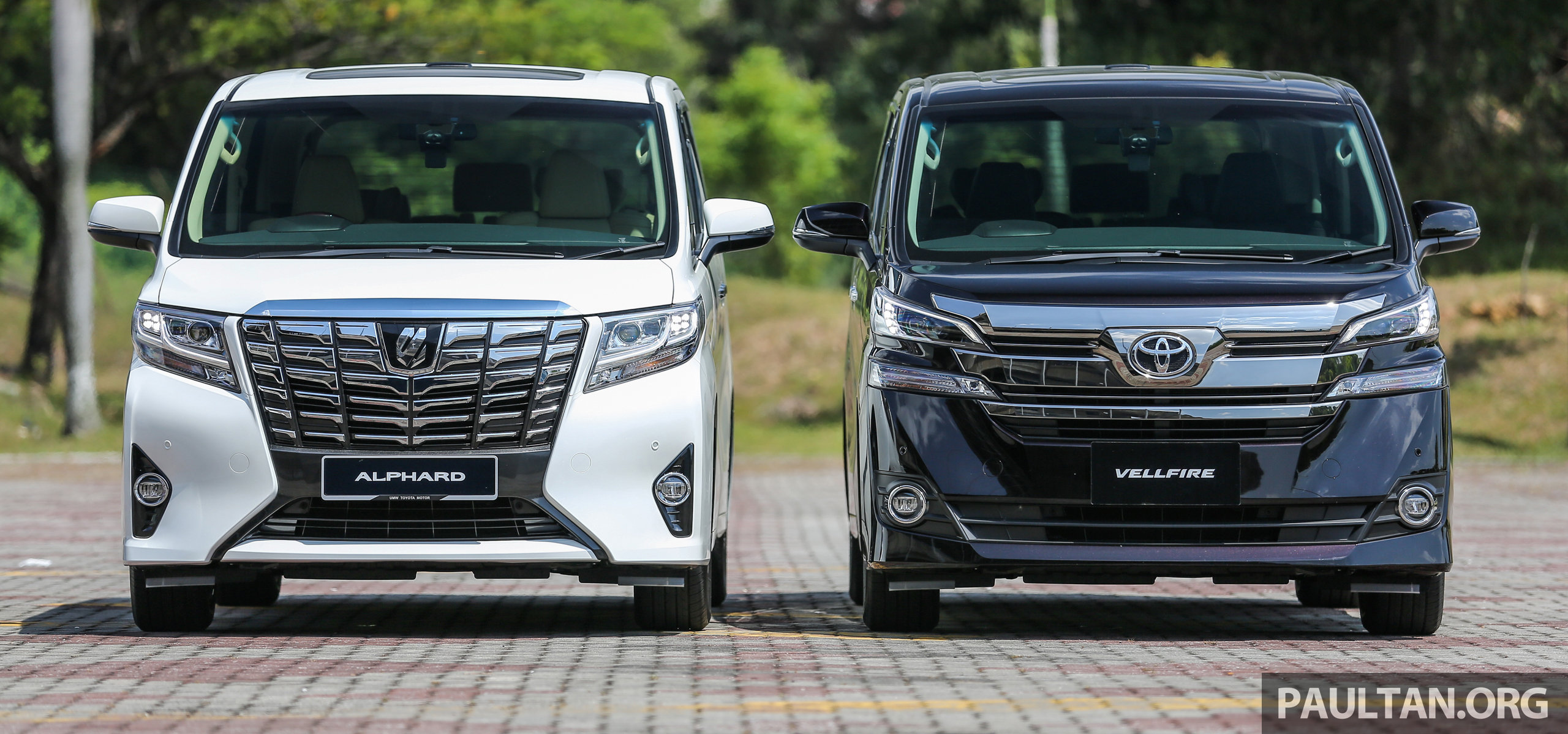 Gallery 2016 Toyota Alphard 3 5 And Vellfire 2 5 Image 529964