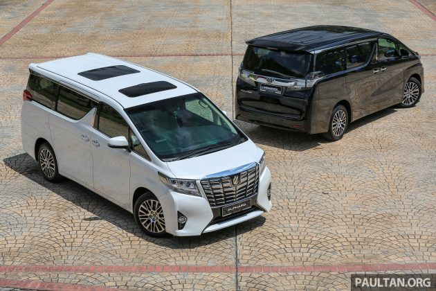 GALLERY: 2016 Toyota Alphard 3 5 and Vellfire 2 5