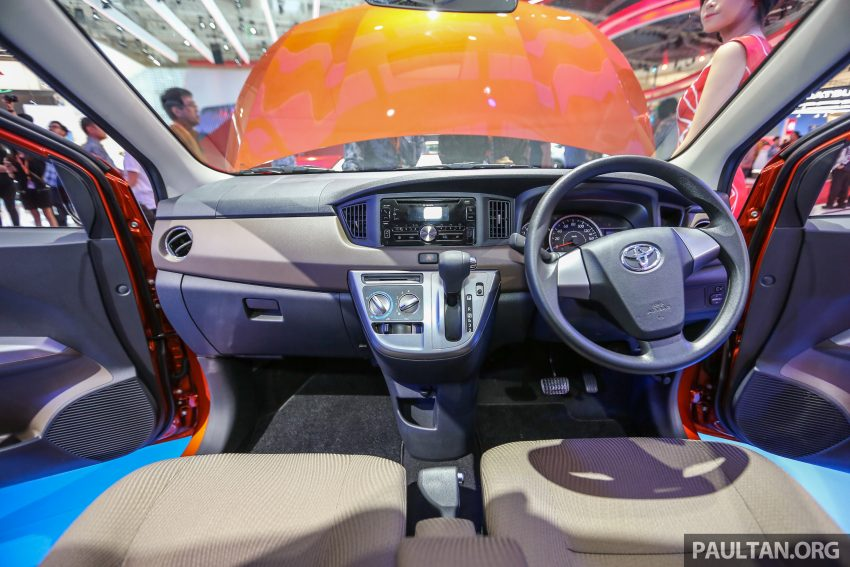 GIIAS 2016: New Toyota Calya – the RM40k 7-seat MPV Image #532962