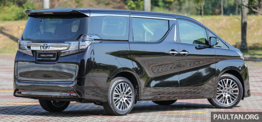 Toyota Alphard dan Vellfire 2016 dilancarkan di M'sia – RM420k-RM520k untuk Alphard, RM355k bagi Vellfire Image #529647