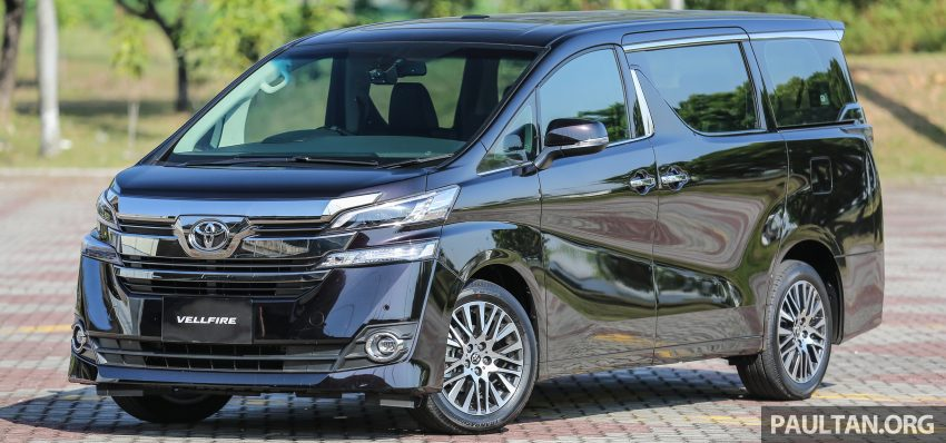 2016 Toyota Alphard and Vellfire launched in M'sia – RM408k-RM506k for Alphard, RM345k for Vellfire Image #529436