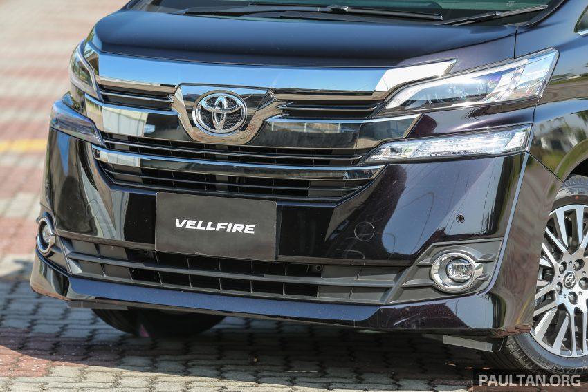 Toyota Alphard dan Vellfire 2016 dilancarkan di M'sia – RM420k-RM520k untuk Alphard, RM355k bagi Vellfire Image #529699
