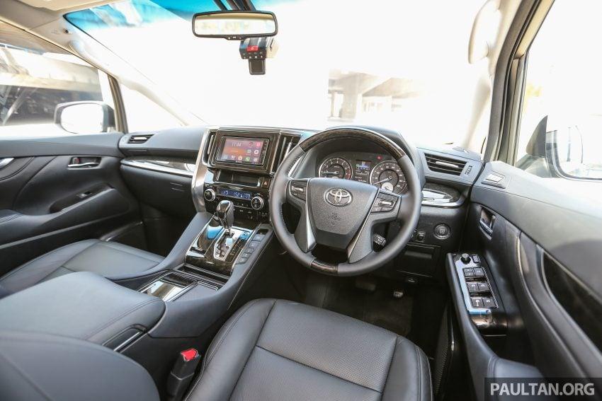 Toyota Alphard dan Vellfire 2016 dilancarkan di M'sia – RM420k-RM520k untuk Alphard, RM355k bagi Vellfire Image #529670