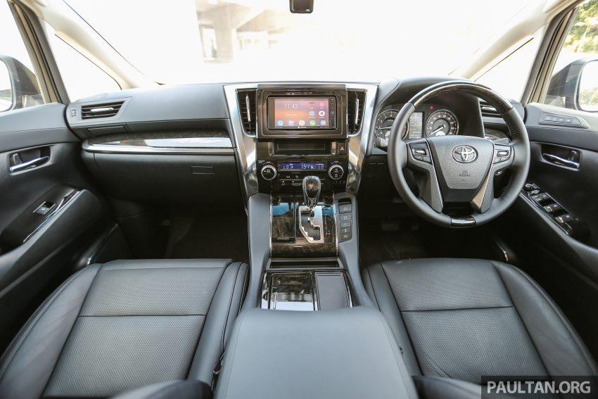 Toyota Alphard dan Vellfire 2016 dilancarkan di M'sia – RM420k-RM520k untuk Alphard, RM355k bagi Vellfire Image #529669