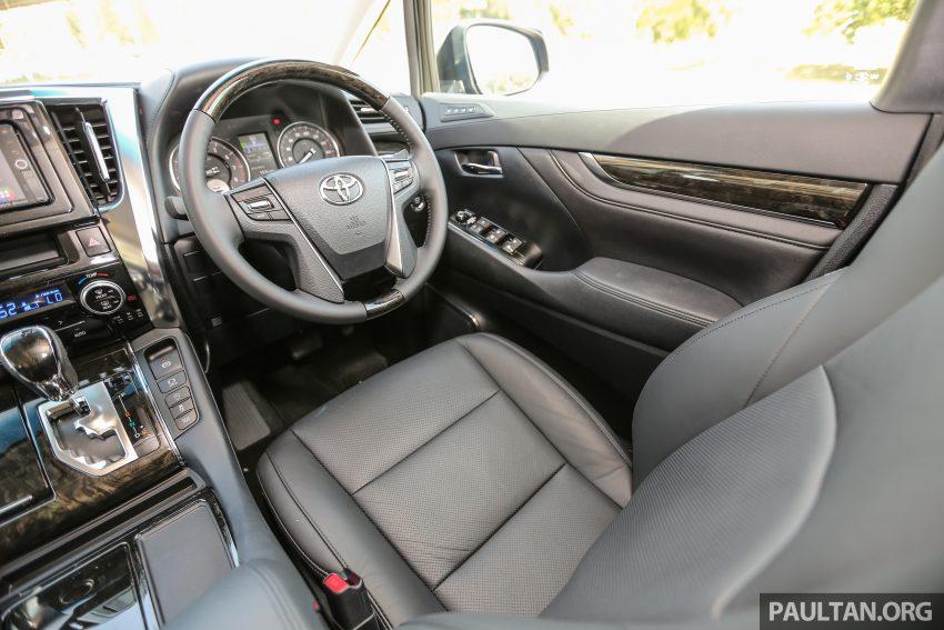 Toyota Alphard dan Vellfire 2016 dilancarkan di M'sia – RM420k-RM520k untuk Alphard, RM355k bagi Vellfire Image #529667