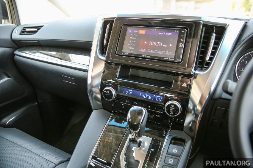Toyota Alphard dan Vellfire 2016 dilancarkan di M'sia – RM420k-RM520k untuk Alphard, RM355k bagi Vellfire Image #529661