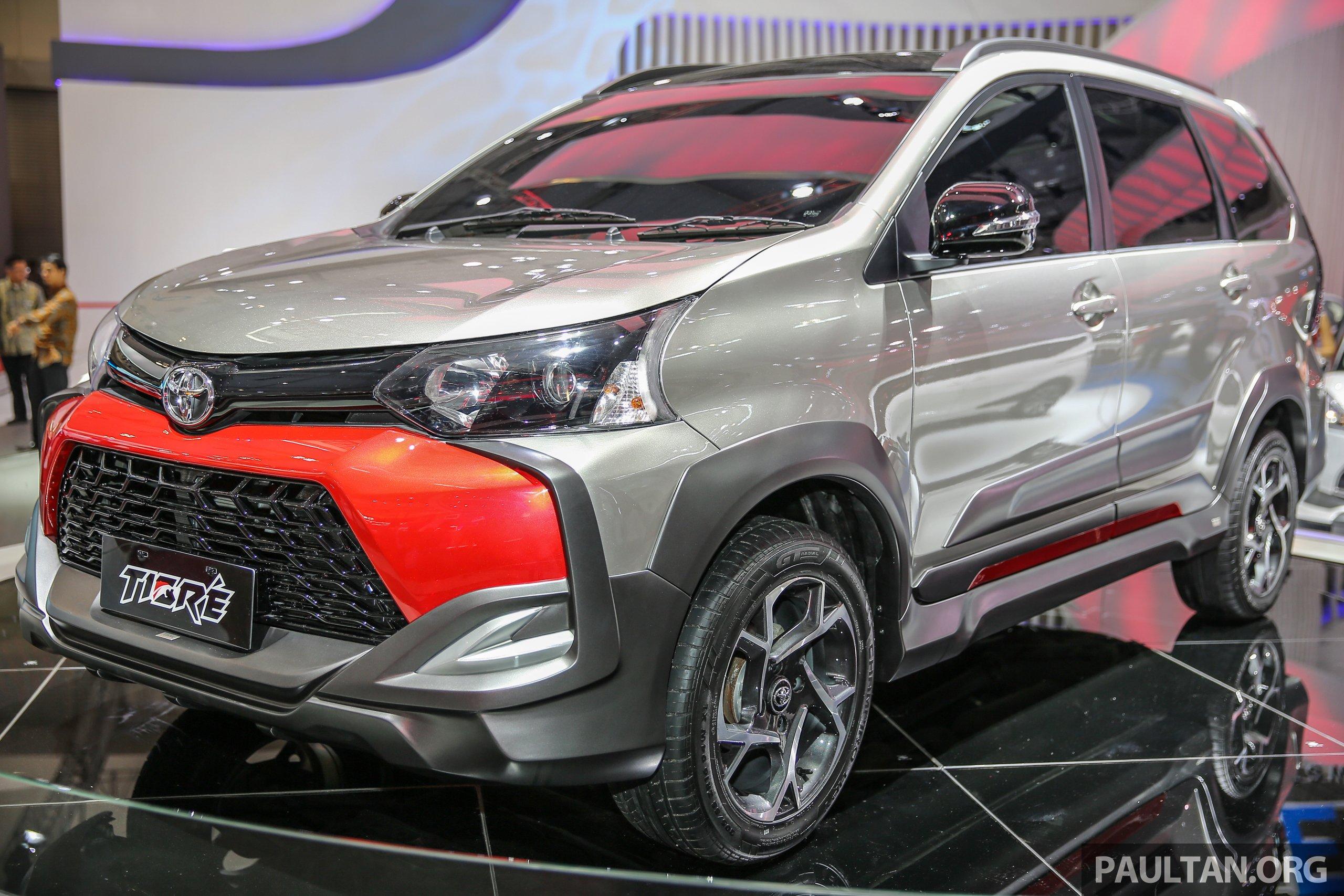 Giias 2016 Toyota Avanza Veloz Tigre Suv Inspired