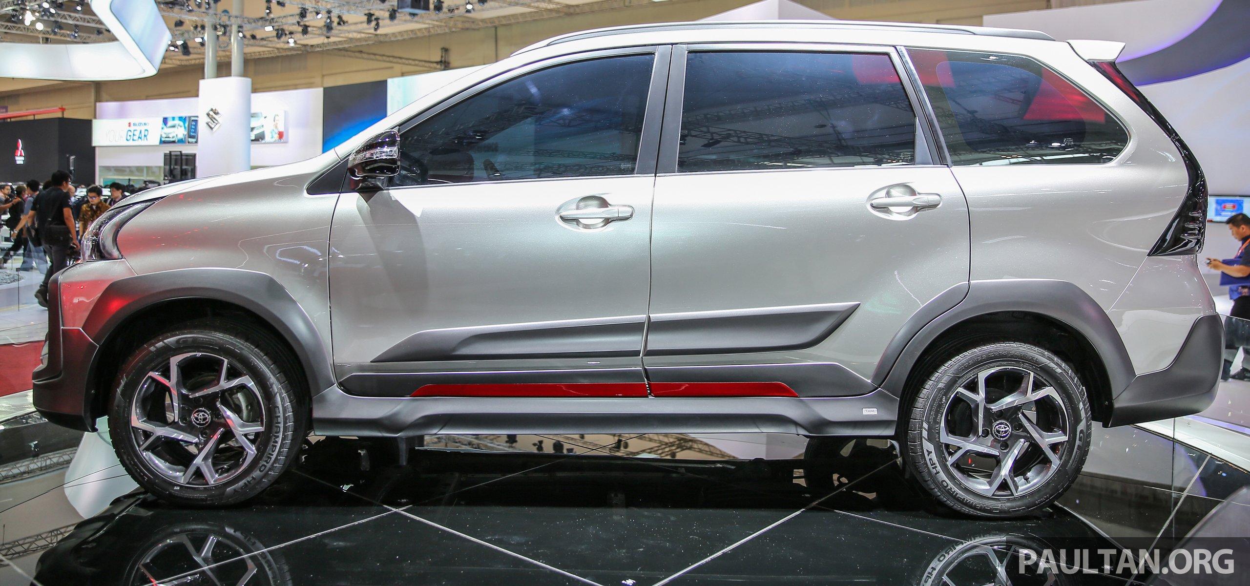 Avanza Toyota 2018 >> GIIAS 2016: Toyota Avanza Veloz Tigre – SUV-inspired Paul Tan - Image 534544