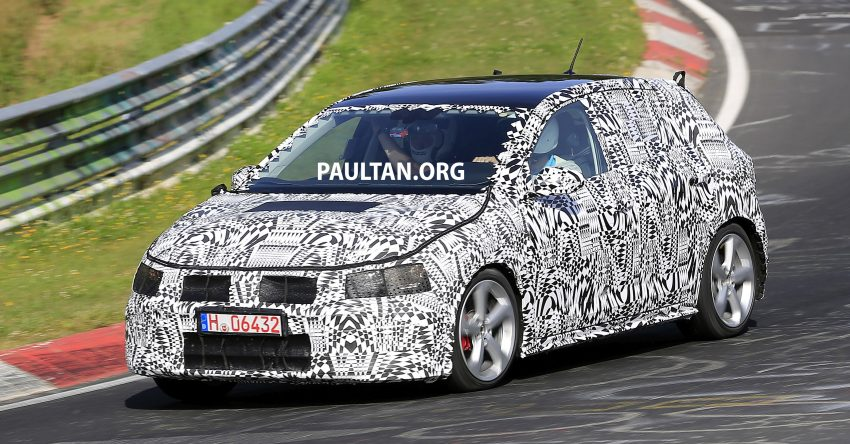 SPYSHOTS: 2018 Volkswagen Polo, Polo GTI spotted Image #536327