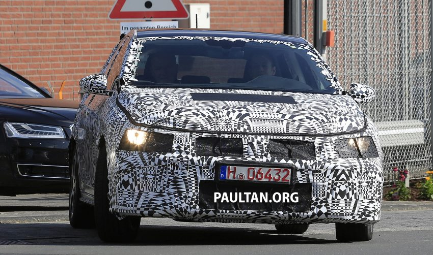 SPYSHOTS: 2018 Volkswagen Polo, Polo GTI spotted Image #536316