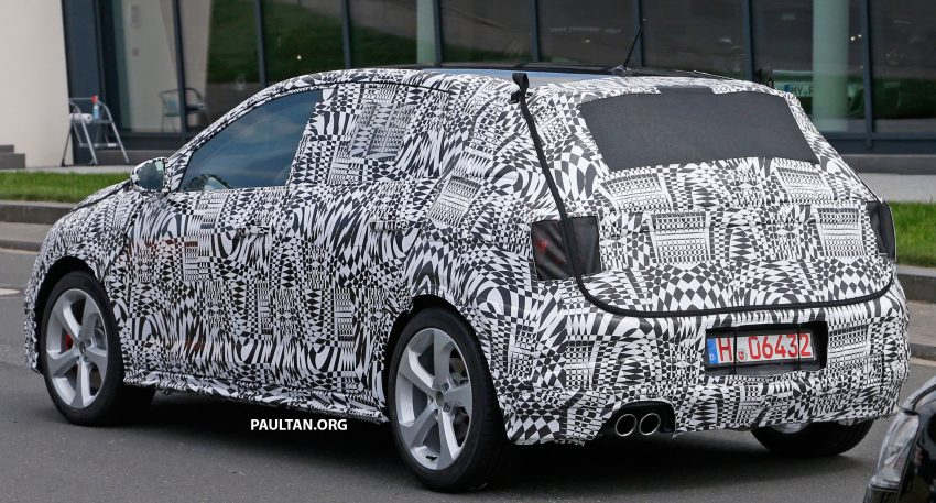SPYSHOTS: 2018 Volkswagen Polo, Polo GTI spotted Image #536034