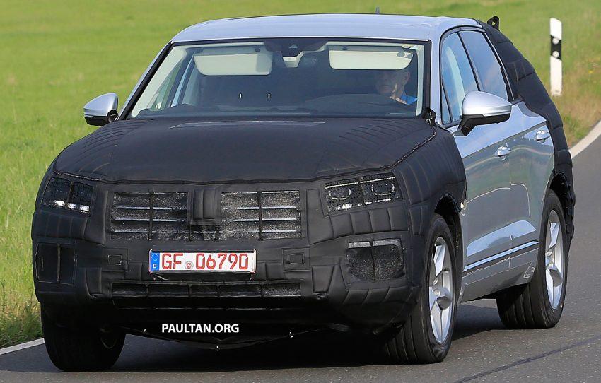 SPYSHOTS: 2017 Volkswagen Touareg spotted testing Image #536288