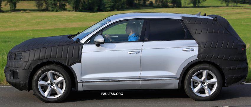 SPYSHOTS: 2017 Volkswagen Touareg spotted testing Image #536291