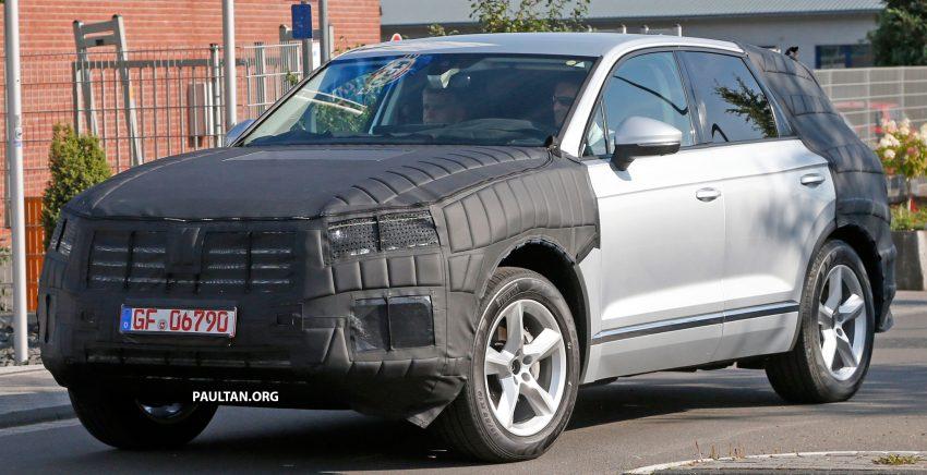 SPYSHOTS: 2017 Volkswagen Touareg spotted testing Image #536131