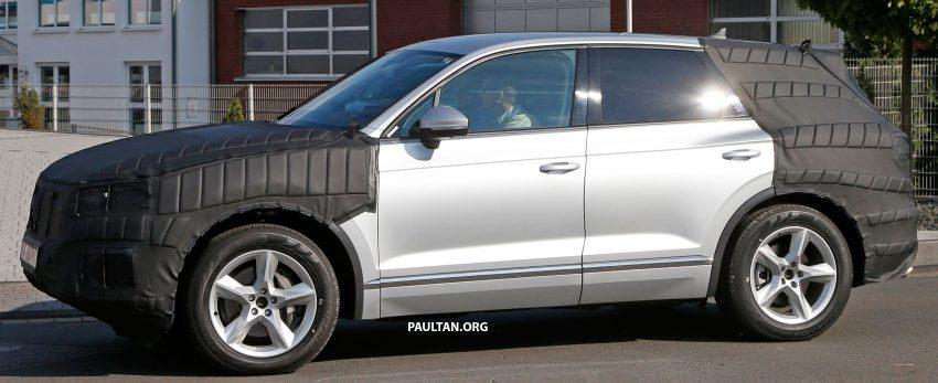SPYSHOTS: 2017 Volkswagen Touareg spotted testing Image #536134