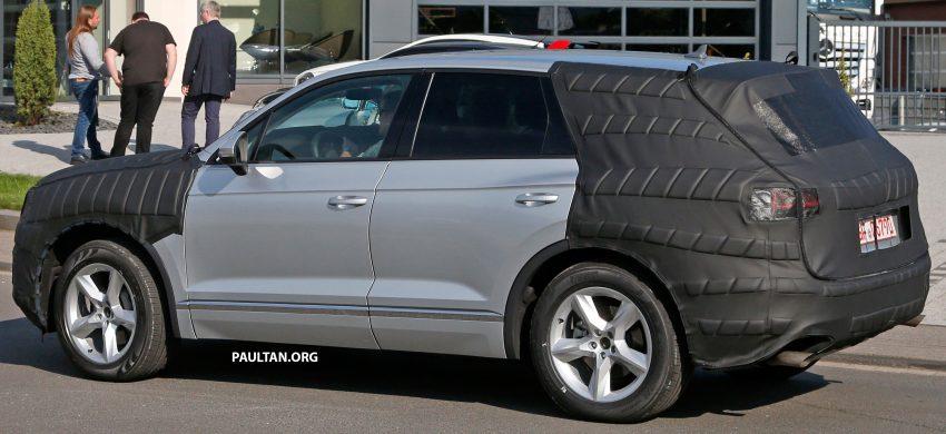 SPYSHOTS: 2017 Volkswagen Touareg spotted testing Image #536136