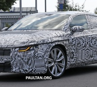 Volkswagen CC next-gen spyshots 5