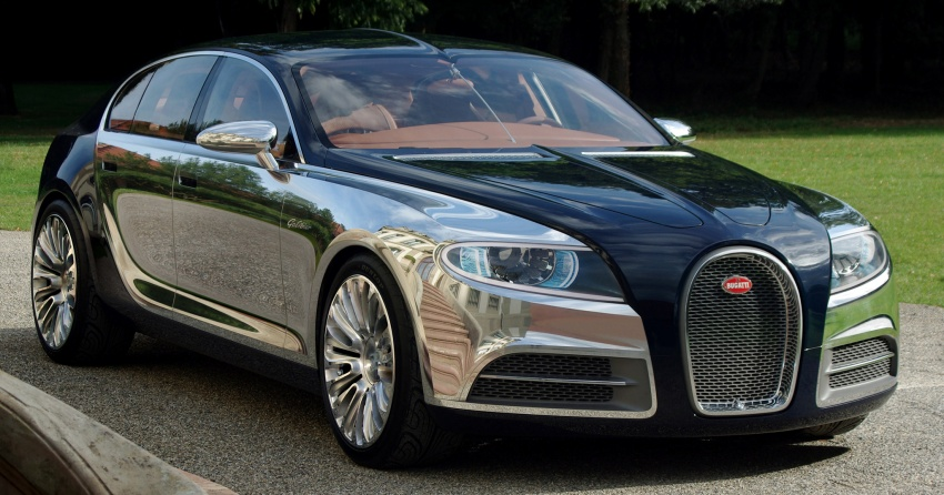 Bugatti Galibier very likely to make it to production Image #541746