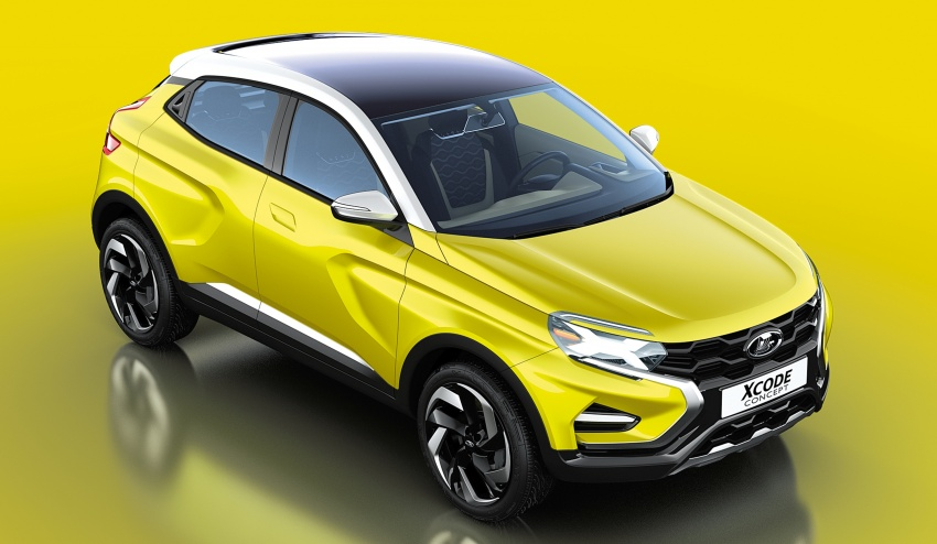 Lada XCODE Concept SUV breaks cover in Moscow Image #541243