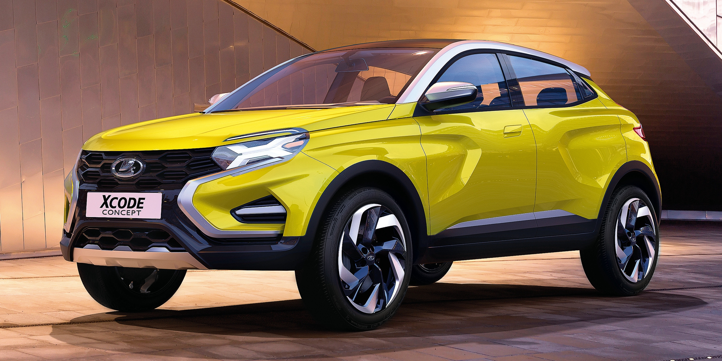 Suv >> Lada XCODE Concept SUV breaks cover in Moscow Paul Tan - Image 541240