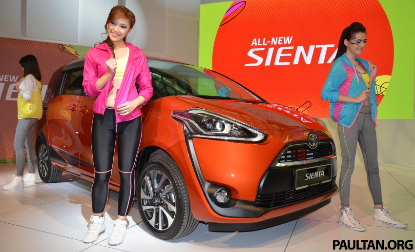 Toyota Sienta MPV launched in Malaysia, fr RM93k Image #536752