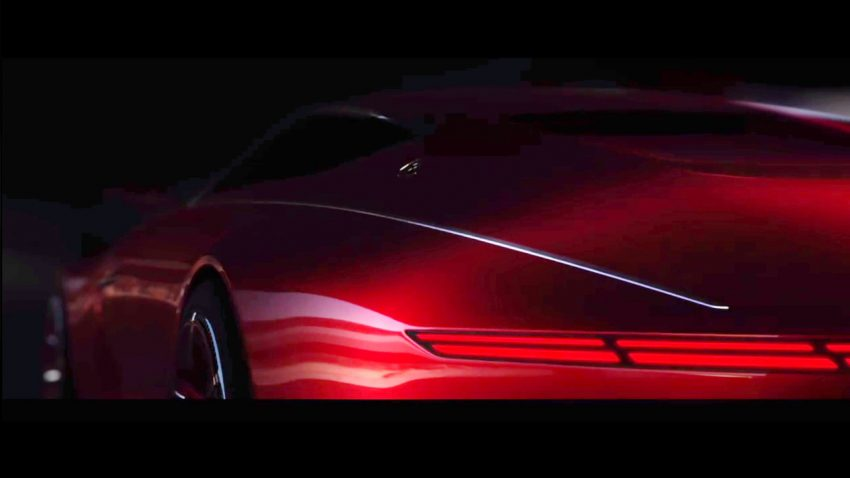 VIDEO: Vision Mercedes-Maybach 6 gullwing doors Image #535917