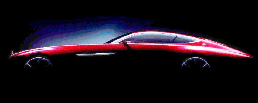 Mercedes-Maybach 6 teased ahead of Pebble Beach Image #534523