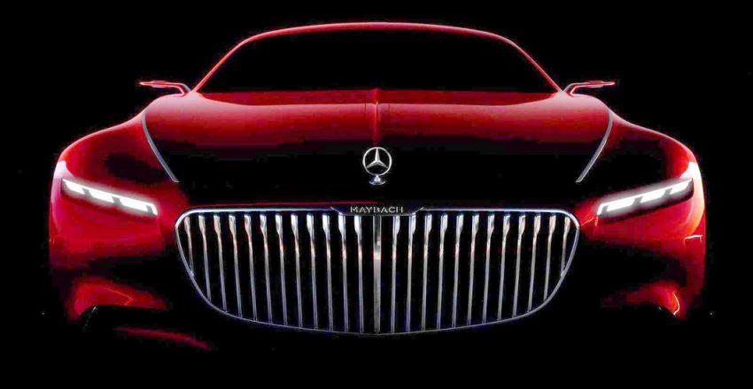 Mercedes-Maybach 6 teased ahead of Pebble Beach Image #534452