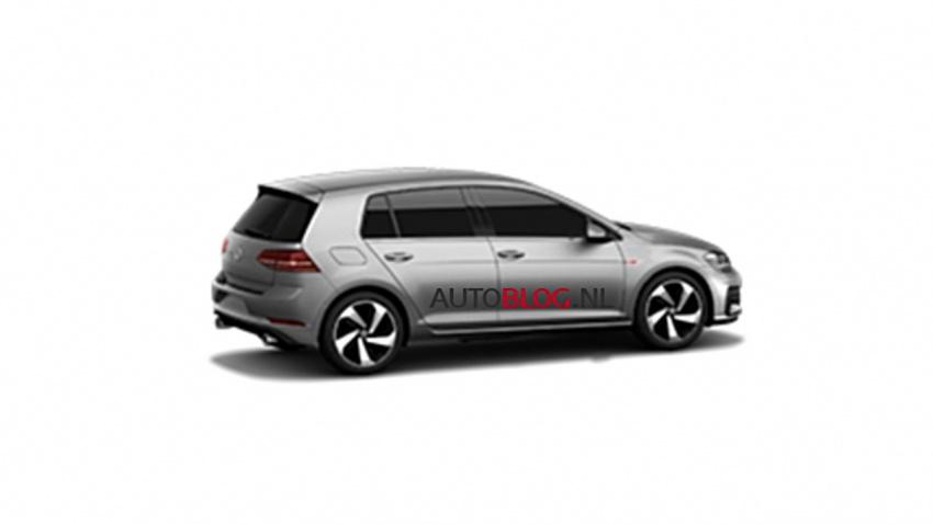 Volkswagen Golf Mk7 facelift spotted in images online Image #539890