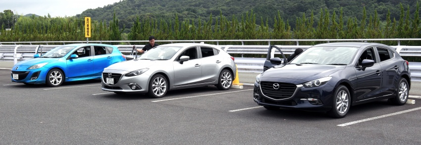 DRIVEN: 2017 Mazda 3 facelift – first impressions of the new G-Vectoring Control system Image #549694
