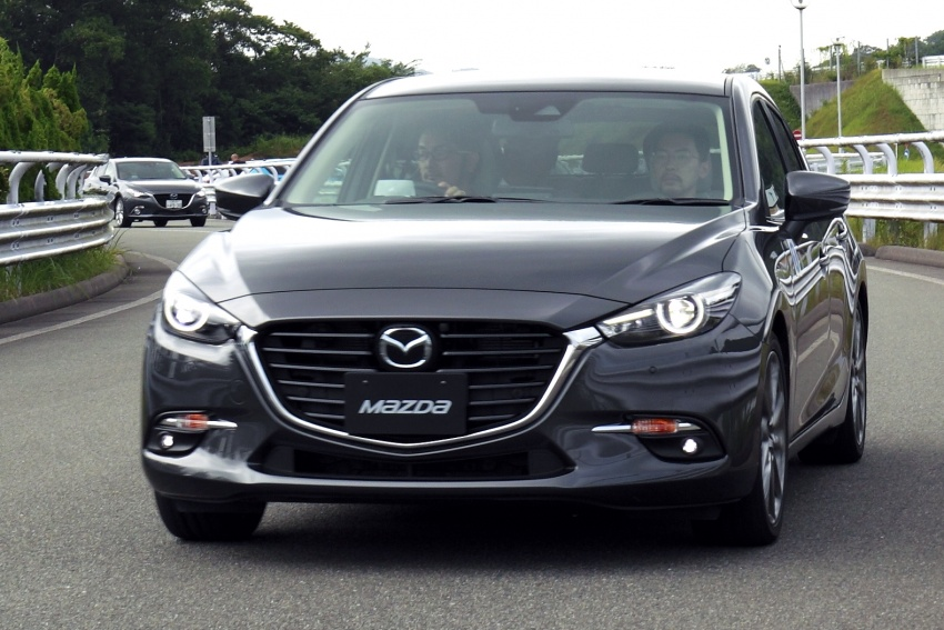 DRIVEN: 2017 Mazda 3 facelift – first impressions of the new G-Vectoring Control system Image #549696