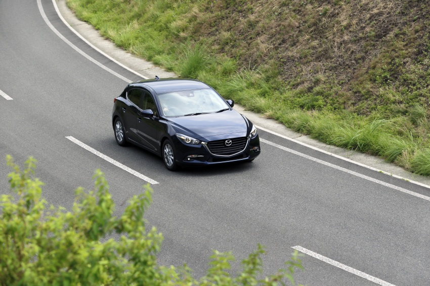 DRIVEN: 2017 Mazda 3 facelift – first impressions of the new G-Vectoring Control system Image #549699