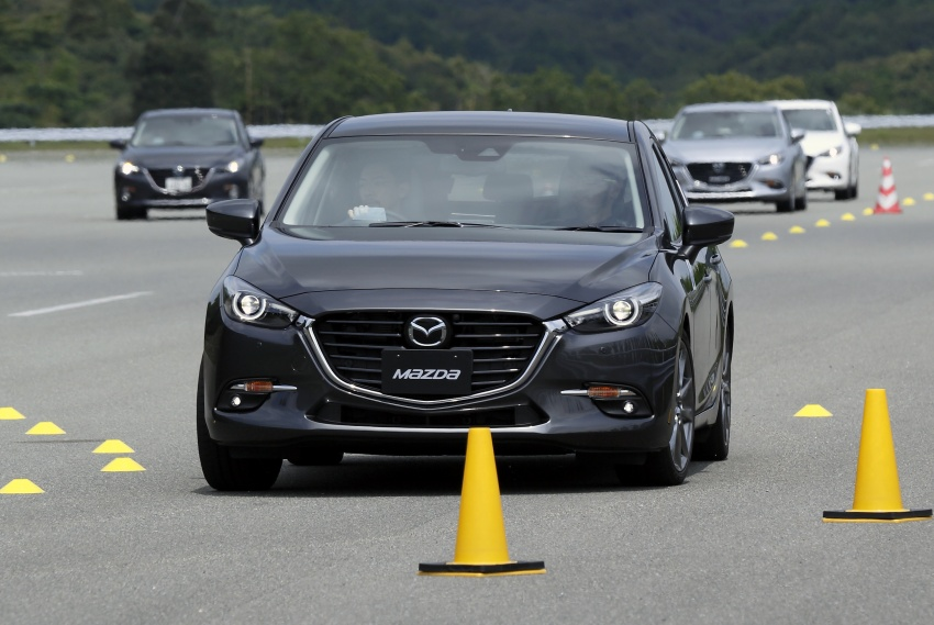 DRIVEN: 2017 Mazda 3 facelift – first impressions of the new G-Vectoring Control system Image #549702