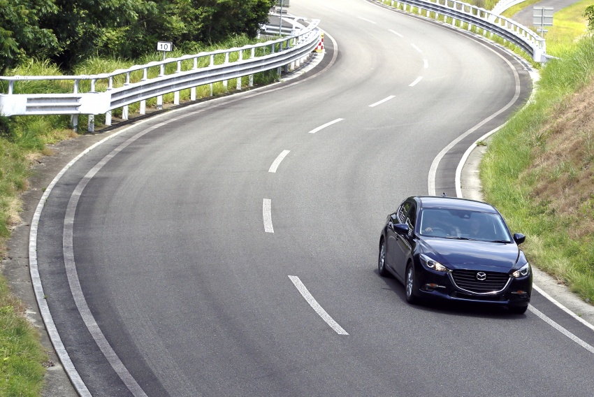 DRIVEN: 2017 Mazda 3 facelift – first impressions of the new G-Vectoring Control system Image #549704