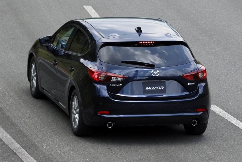 DRIVEN: 2017 Mazda 3 facelift – first impressions of the new G-Vectoring Control system Image #549705