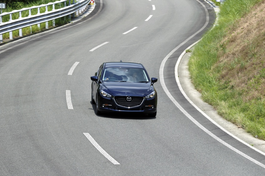 DRIVEN: 2017 Mazda 3 facelift – first impressions of the new G-Vectoring Control system Image #549707