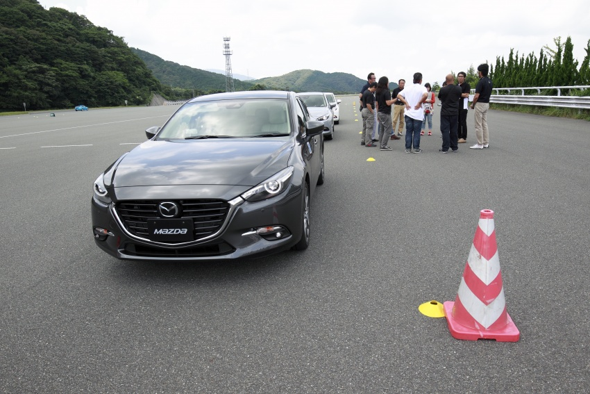 DRIVEN: 2017 Mazda 3 facelift – first impressions of the new G-Vectoring Control system Image #549714